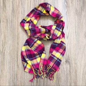 Accessories - D&Y Scarf  pink yellow purple blue